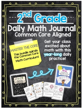 Second Grade Common Core Daily Math Practice for the Whole Year
