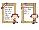 Second Grade Common Core ELA - Reading Literature Text Sta