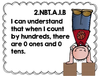 """Second Grade Common Core ELA and Math """"I Can"""" Posters {Pastel Edition}"""