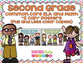 "Second Grade Common Core ELA and Math ""I Can"" Posters {Pas"
