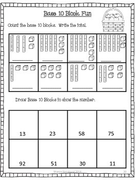 Second Grade Common Core English/Language Arts Printables for September