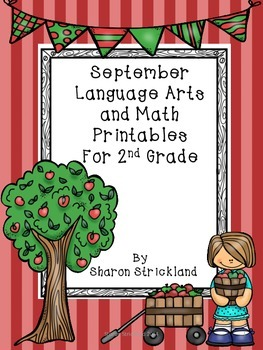 Second Grade Common Core English/Language Arts Printables