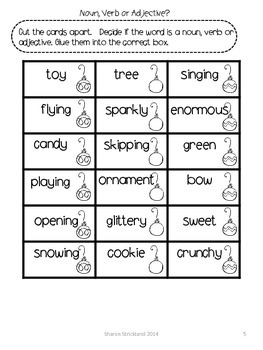 Second Grade Common Core English/Language Arts and Math Printables for December