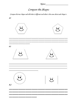 2nd Grade Common Core Geometry Shapes