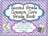 Second Grade Common Core Grade Book ***Now EDITABLE***