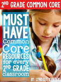 Second Grade Common Core {Literature and Informational Text Standards}