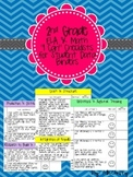 2nd Grade Common Core I Can Student Checklist for Data Not
