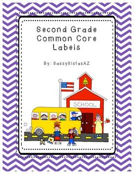 Second Grade Common Core Labels