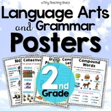 Second Grade Common Core Language Anchor Charts / Posters