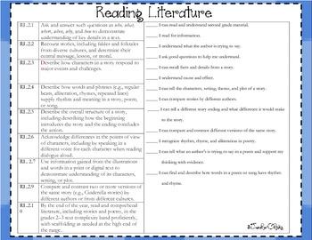 Second Grade Common Core List