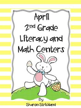 Second Grade Common Core Literacy and Math Centers Bundle!