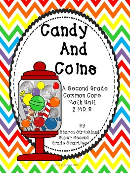 Second Grade Common Core Math-2.MD.8-Money