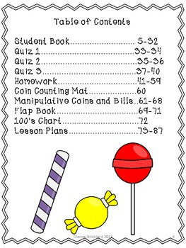 Second Grade Common Core Math-2.MD.8-Money