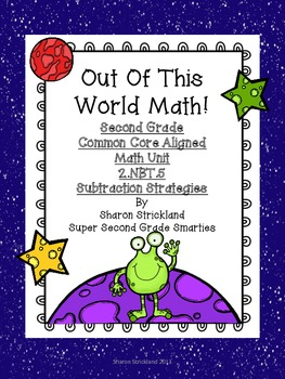 Second Grade Common Core Math-2.NBT.5-Subtraction Strategies