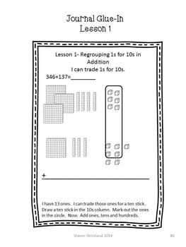 Second Grade Common Core Math-2.NBT.7, 8, 9-Addition to 1000