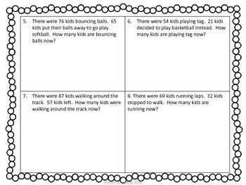 Second Grade Common Core Math-2.OA.1-May Word Problems