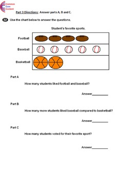 2nd Grade Common Core Math ASSESSMENT Form A Second Grade