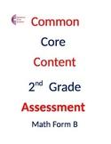 2nd Grade Common Core Math ASSESSMENT Form B Second Grade