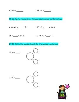 Second Grade Common Core Math Assessment