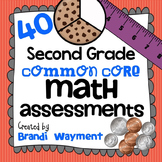 Second Grade Common Core Math Assessments
