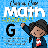 Second Grade Common Core Math Assessments Geometry: 2.G.1, 2.G.2, 2.G.3