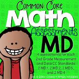 Second Grade Common Core Math Assessments Measurment & Dat