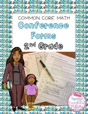 Common Core Math Conference Forms Second Grade