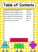 Second Grade Common Core Math (G)-Assessments, Practice Sheets, and Activities