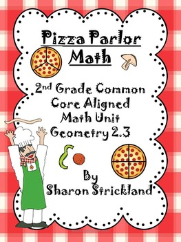 Second Grade Common Core Math- Geometry Bundle- G 1, 2 and 3