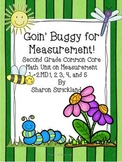 Second Grade Common Core Math-Measurement 2.MD. 1, 2, 3, 4, 5 and 6