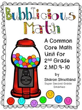 Second Grade Common Core Math -Measurement and Data 2.MD.9-10