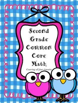 Second Grade Common Core Math Pack