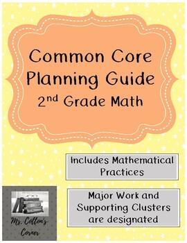 Second Grade Common Core Math Planning Guide