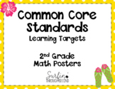 Second Grade Common Core Standards / Learning Targets Math - Tropical