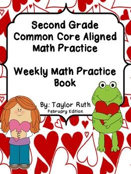 Second Grade Common Core Math Practice Book: February Edition