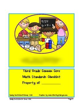 Second Grade Common Core Math Standards Checklist