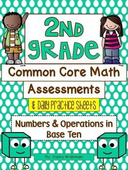 Second Grade Common Core Math-The Entire Collection!