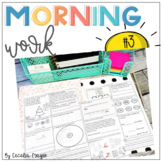 Second Grade *Common Core* Math and ELA Morning Work 3rd M