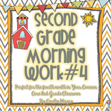 Second Grade *Common Core* Math and ELA Morning Work 4th Month of School