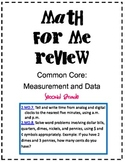 Second Grade: Common Core Math for Me Review for Time and Money