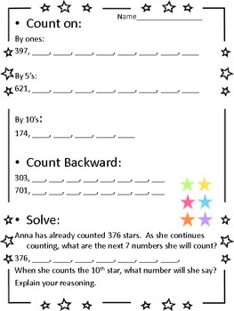 Second Grade Common Core Numbers and Operations in Base 10