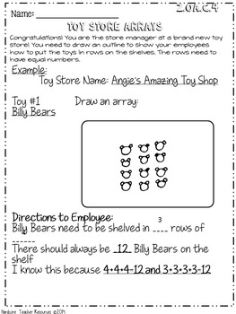 Second Grade Common Core Operations & Algebraic Thinking H.O.T. Activities GATE