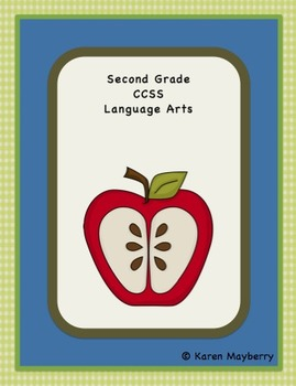 Second Grade Common Core Planner and Organizer for Language Arts (Word)