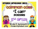 Second Grade Common Core Posters- ELA