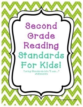 Second Grade Common Core Reading Standards