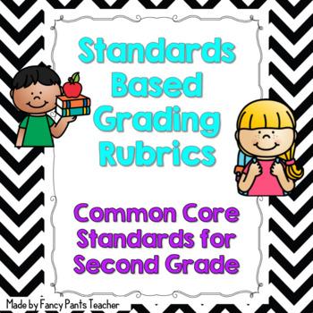 Second Grade Common Core Rubrics ELA and Math Standards