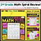 2nd Grade Math Homework 2nd Grade Morning Work 2nd Grade Math Spiral Review FREE