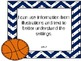 Second Grade Common Core Sports Theme