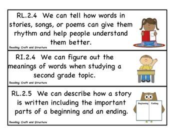 Second Grade Common Core Standards