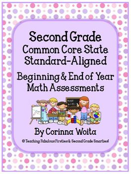 Second Grade Common Core State Standard Beginning & End of